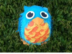 Owl Pinata - For your next special event, try making this cute owl pinata! The pinata takes a bit of patience, but the end result is sure to impress your friends and family. You can easily customize this project into your own creature by experimenting with different tissue paper colors, textures and techniques.