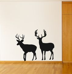 Large Buck Wall Decal, Deer Decal, Buck Decal, Buck Sticker. $14.99, via Etsy.