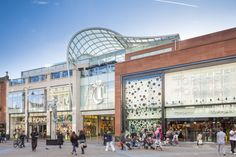 Trinity Leeds | Chapman Taylor http://www.baasl.co.uk/projects/trinity-shopping-centre/ #Leeds #Trinity #Facades