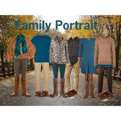 Family Picture - What to Wear - Teal ,Brown & Tan