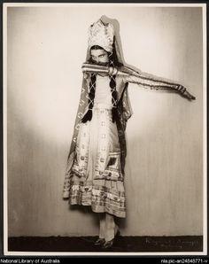 Sawyer, Raymond G.: Tamara Tchinarova in 'Thamar', Ballets Russes, c. 1939