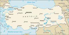 Turkey Map