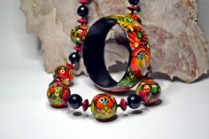 Special Order Ana Arias.Necklace and by RussianDecor on Etsy