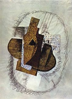 Still Life with Bottle of Bass, 1914 Georges Braque