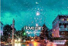 Rain..