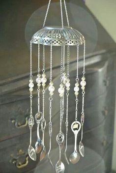 silver basket chimes