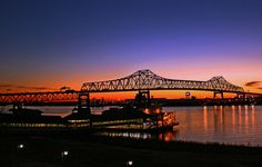 Can't even count how many times I have crossed this.....Mississippi River Bridge in Baton Rouge