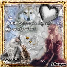 Hege69 Very Lovely, Photo Editor, Wolves, Animation, Stamp, Scrapbook, Lettering, Writing, Movie Posters