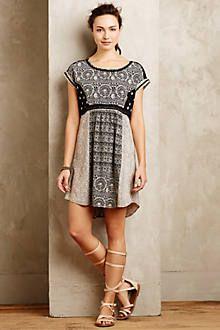 Mosaic Tunic Dress - anthropologie.com