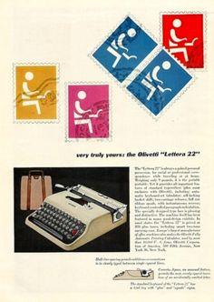 Olivetti Lettera 22 / Designed by Leo Lionni (1954)
