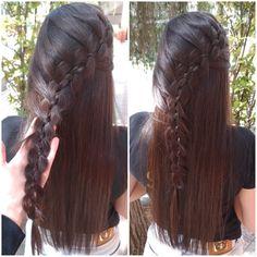 Hair Beauty, Dreadlocks, Hair Styles, Loose Hairstyles, Long Hai, Parties, Dresses, Dreads, Hair Looks