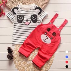 Check it on our site Cotton Boys Clothes New Baby Boy Clothing Set Pattern Bear Toddler Boys Clothing Solid Kids Clothes Children Clothing Set Q2 just only $10.66 with free shipping worldwide  #boysclothing Plese click on picture to see our special price for you