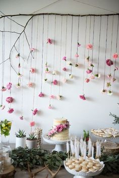 Boho & Bubbly Baby Shower via KARA'S PARTY IDEAS | KarasPartyIdeas.com (39)…