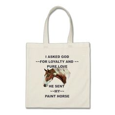 Chestnut Splash Frame Tovero Paint Horse Tote Bag