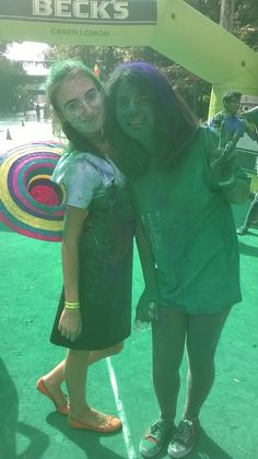 Crazy awesome fun time spent at The Color Run Bucharest 2014