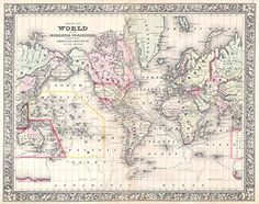 Map of the World on Mercator Projection Mutchell 1864 - L... https://www.amazon.com/dp/B01GXBJCW6/ref=cm_sw_r_pi_dp_x_0JAZyb9WCEYH9