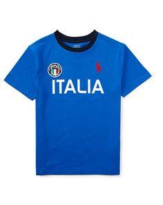 Boys 6 - 14 years - Italia Cotton Jersey Tee