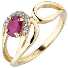 Ringe Gold, Bangles, Bracelets, Gemstone Rings, Gemstones, 9 Mm, Ebay, Jewelry, Pandora Rings