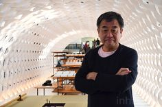Kengo Kuma unveils cocoon-like paper kitchen pavilion at Milan Design Week's Fuorisalone 2015 | Inhabitat - Sustainable Design Innovation, Eco Architecture, Green Building