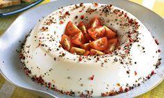 Mousses Salgadas No Salt Recipes, Best Cake Recipes, My Recipes, Healthy Recipes, I Love Food, Good Food, Salty Foods, Cold Dishes, Special Recipes