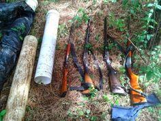 BLOG DO MARKINHOS: Flagrante de caça e porte irregular de arma de fog...