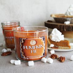Pumpkin Pie: the ultimate fall dessert ... in a Candle!   #JumpIntoFall