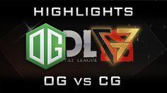 OG vs CG Clutch Gamers MDL 2017 Highlights Dota 2