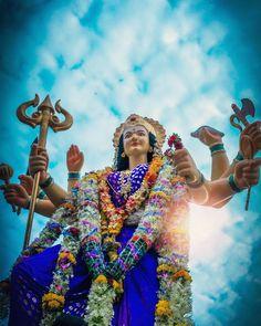 Lord Durga, Durga Kali, Durga Puja, Durga Goddess, Shiva Shakti, Maa Durga Photo, Maa Durga Image, Durga Images, Krishna Images