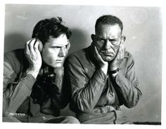 """William Haines & Lon Chaney in """"Tell It to the Marines"""" 1927. See more at: https://www.facebook.com/LonChaneySrManOf1000Faces"""