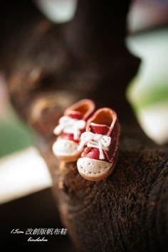 1.5cm 改創版帆布鞋