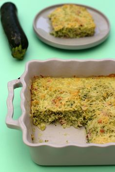 Gratin of rice and grated zucchini with ham. Weight Watchers Source by Healthy Soup Recipes, Healthy Breakfast Recipes, Vegetarian Recipes, Healthy Lunches, Detox Recipes, Healthy Food, Vegetarian Wraps, Easy Diner, Zucchini