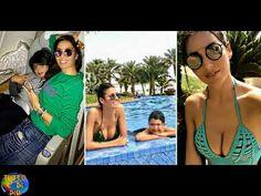 Elisabetta Gregoraci, vacanza da mamma single !! - YouTube
