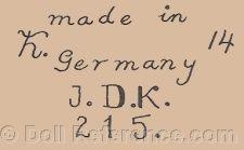 Kestner JDK King of Doll Makers 1820-1938 German