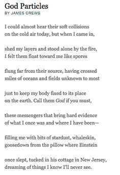 God Particles by James Crews Mary Oliver Poems, Angels Beauty, Poetry Foundation, Best Poems, Poem A Day, Spiritus, Meaning Of Life, Poetry Quotes, The Ordinary