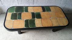 Mid-Century Shogun Coffee Table by Roger Capron 5