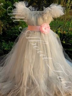 Princess-Tutu Dresses for a special little flower girl <3 Great for a costume