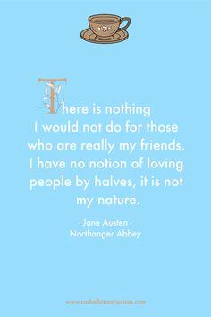Northanger Abbey - citazione