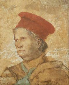 Ritratto di Napoleone Orsini. 71x57.3 1508-1509. Pinacoteca Tosio Martinengo