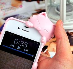 Hello Kitten iPhone Case -- so cute!