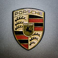 Photo Porsche by Randy Scherkenbach on Porsche Logo, Porsche 911, Hood Ornaments, Car In The World, Car Wallpapers, Coat Of Arms, Car Ins, Jaguar, Boat