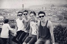joe sugg, Marcus butler, casper lee, and alfie Deyes<3