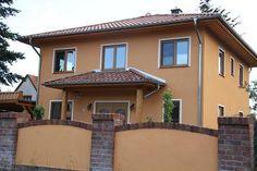 Fassadenfarbe mediterran  wunderschöne Fassadenfarbe rosa Fassade | fassadenfarbe ...