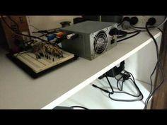 Levitating Light Bulb (Wireless Power Transfer + Magnetic Levitation) / #science!