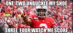Nike Ohio State, Ohio State Football, Ohio State Buckeyes, American Football, Funny Football, College Football, Ohio State Wreath, Buckeyes Football, Buckeye Sports