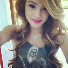 """Olivia """"Chachi"""" Gonzales--this girl is in my brother's high school class! So weird to see something like this pop up on Pinterest."""