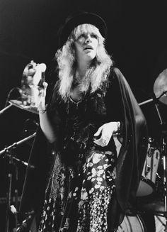 Stevie Nicks, Fleetwood Mac U.S. Tour, 1975