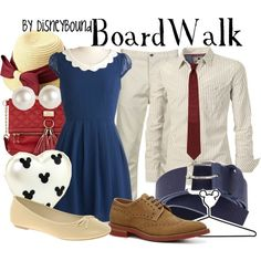 """BoardWalk"" by lalakay on Polyvore"