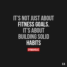 It's Not Just About Fitness Goals