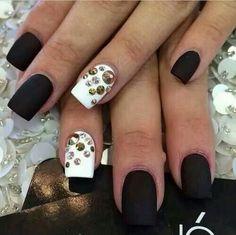 Gem stone nails