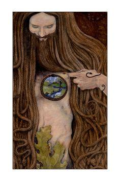 The Five of Disks Tarot - Mary-el Tarot